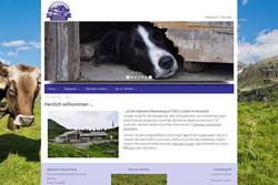 Bild Webseite alpkaeserei-wasserberg.ch