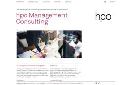 Bild Webseite hpo.ch