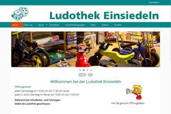 Bild Webseite ludothek-einsiedeln.ch