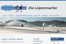 Bild Webseite schwedentritt.ch
