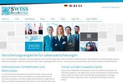 Bild Webseite swiss-data.ch