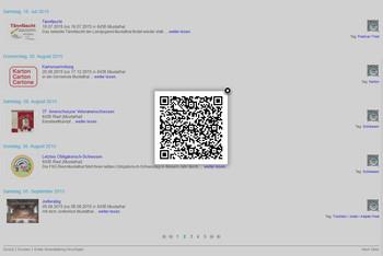 QR Code zu Veranstaltung