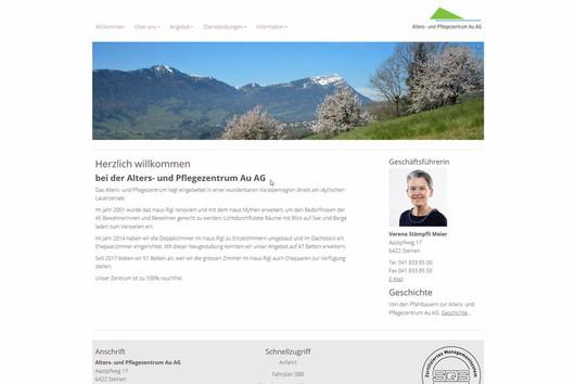 Bild Webseite apz-au.ch