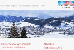 Bild Webseite gewerbeverein-einsiedeln.ch