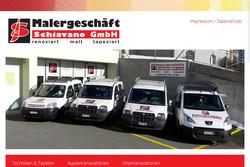 Bild Webseite schiavano.ch
